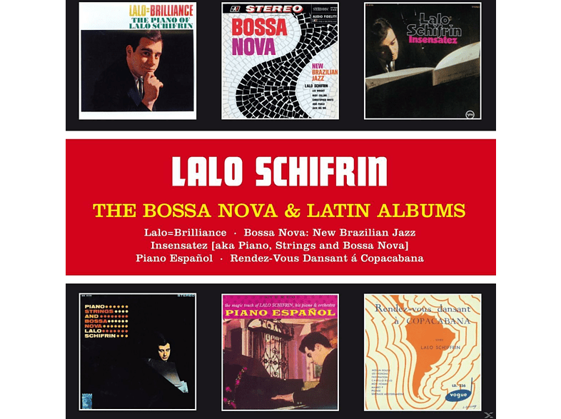 Lalo Schifrin - The Bossa Nova & Latin Albums [CD]