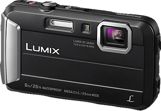 PANASONIC Lumix DMC-FT30EG-D Digitalkamera Schwarz, 4x opt. Zoom, TFT-LCD