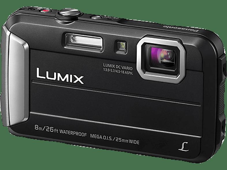 PANASONIC Lumix DMC-FT30EG-D Digitalkamera Schwarz, 16.1 Megapixel, 4x opt. Zoom, TFT-LCD