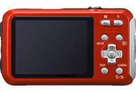 PANASONIC Lumix DMC-FT30EG-D Digitalkamera Rot, 16.1 Megapixel, 4x opt. Zoom, TFT-LCD