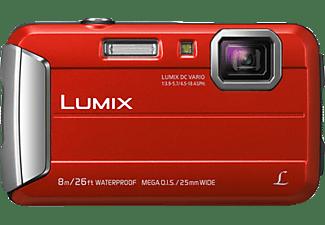 PANASONIC Lumix DMC-FT30EG-D Digitalkamera Rot, 4x opt. Zoom, TFT-LCD