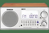 SANGEAN WR-2 Radio (FM, MW, LW, UKW, Walnuss)