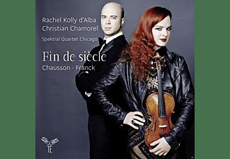 Spektral Quartet Chicago, Christian Chamorel, Rachel Kolly D'alba - Fin De Siecle  - (CD)