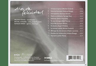 Helena Rüegg, Michel Godard, Quique Sinesi - Dias De Felicidad  - (CD)