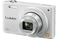 PANASONIC Lumix DMC-SZ10EG-K Digitalkamera Weiß, 16 Megapixel, 12x opt. Zoom, TFT-LCD, WLAN