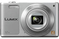 PANASONIC Lumix DMC-SZ10EG-K Digitalkamera Silber, 16 Megapixel, 12x opt. Zoom, TFT-LCD, WLAN