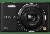 PANASONIC Lumix DMC-SZ10EG-K Digitalkamera Schwarz, 16 Megapixel, 12x opt. Zoom, TFT-LCD, WLAN