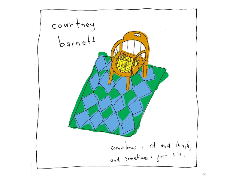 Courtney Barnett - Sometimes I Sit And Think, And Sometimes...(Lp+Mp3) [LP + Download]