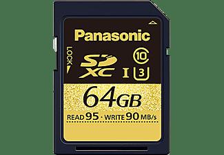 PANASONIC RP-SDUD64GAK, SD Speicherkarte, 64 GB, 95 MB/s