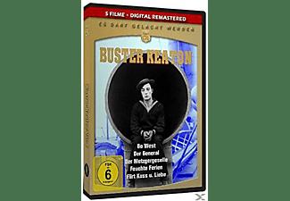 BUSTER KEATON - GENERAL/GO WEST/METZGERGESELLE/... DVD