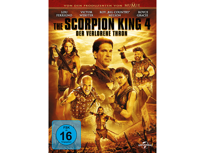 The Scorpion King 4 - Der verlorene Thron [DVD]