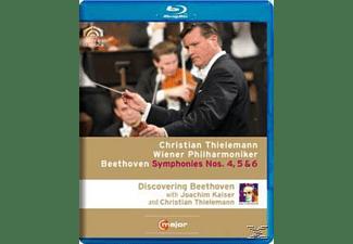 Thielemann Christian, Christian/wpo Thielemann - Sinfonien 4-6  - (Blu-ray)