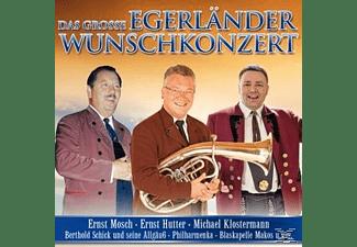 VARIOUS - Das große Egerländer Wunschkonzert  - (CD)