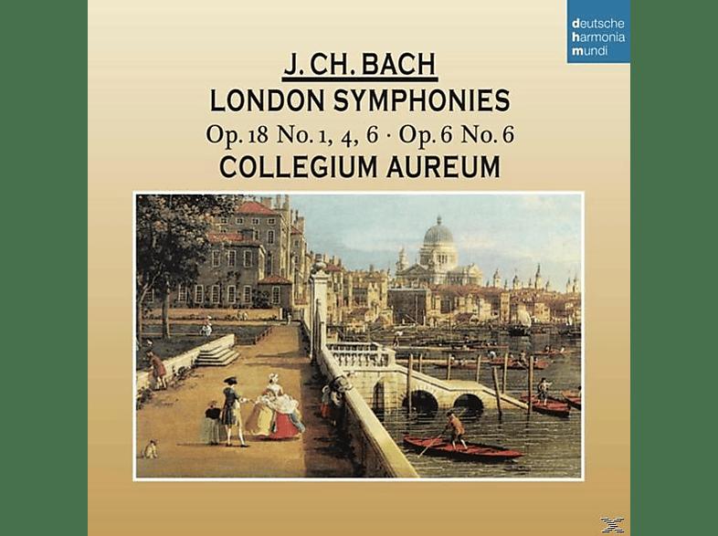 Collegium Aureum, VARIOUS - Johann Christian Bach: Londoner Sinfonien [CD]
