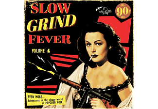 VARIOUS - Slow Grind Fever 04  - (Vinyl)