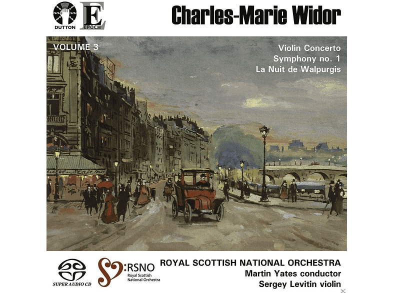 Sergey Levitin, Royal Scottish National Orchestra - Charles-Marie Widor Vol.3 [SACD Hybrid]