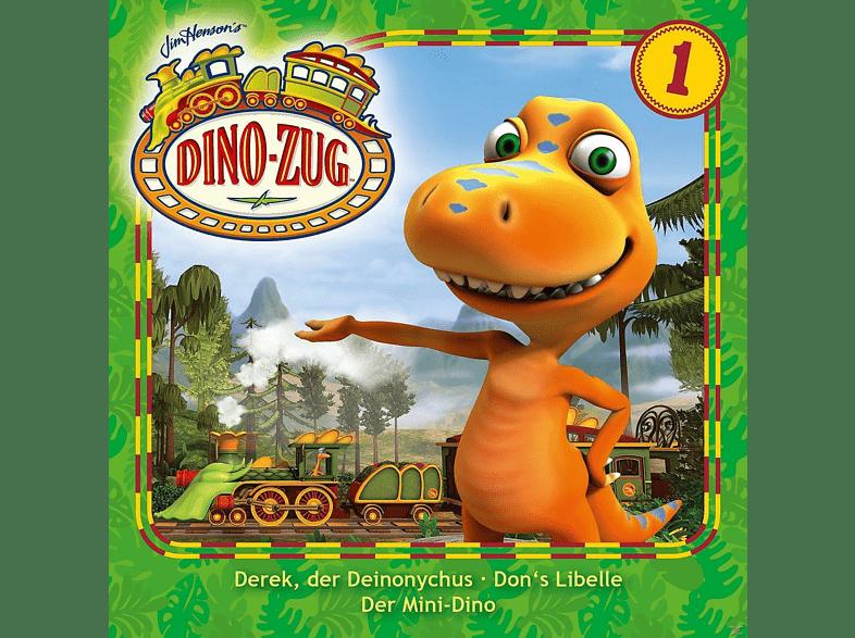 Der Dino-Zug (Tv-Hörspiel) - Der Dino-Zug 01: Derek, der Deinonychus / Don's Libelle / Der Mini-Dino - (CD)