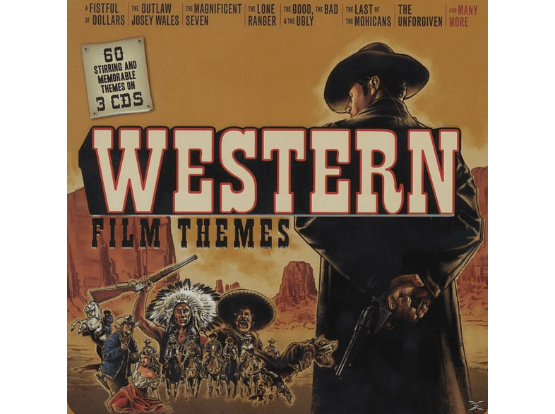 VARIOUS, City Of Prague Orchestra, Philharmonic Orchestra - Western Film Themes (Lim.Metalbox Edition) [CD]