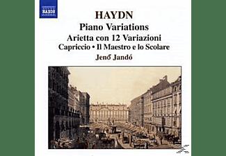 Jenö Jo, Jenoe Jando - Klaviervariationen  - (CD)