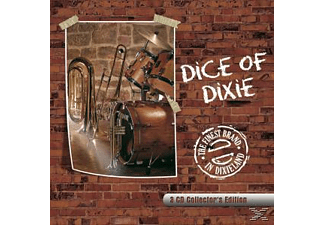 Dice Of Dixie - The Finest Brand In Dixieland(3CD COLLECTOR'S EDITION)  - (CD)