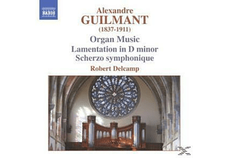 Robert Delcamp - Orgelmusik - (CD)