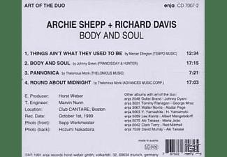 Archie Shepp - Body & Soul  - (CD)