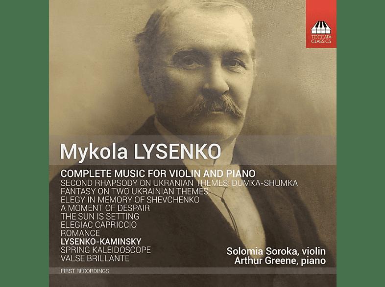 Solomia Soroka;Arthur Greene - Sämtliche Werke für Violine und Klavier [CD]