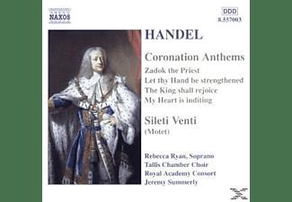 Rebecca Ryan, Tallis Chamber Choir, Royal Academy Consort - Coronation Anthems/Silete Vent  - (CD)