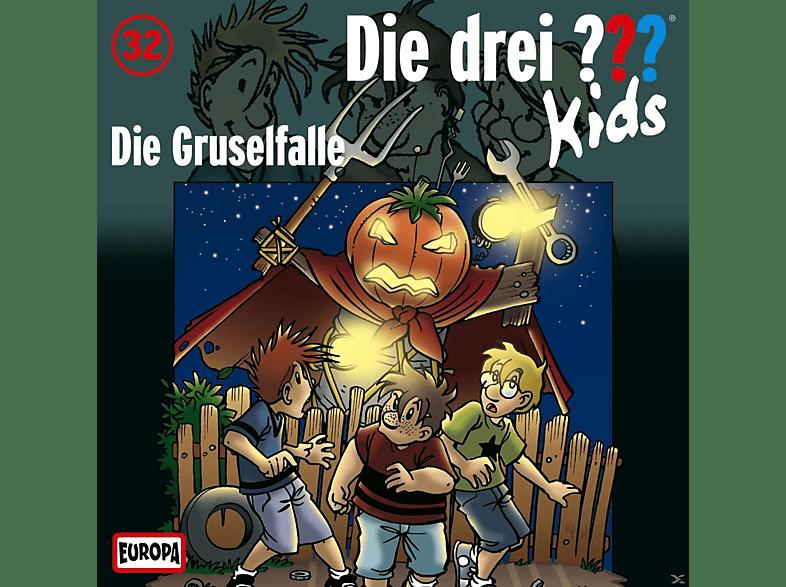 Die drei ??? Kids 32: Die Gruselfalle - (CD)
