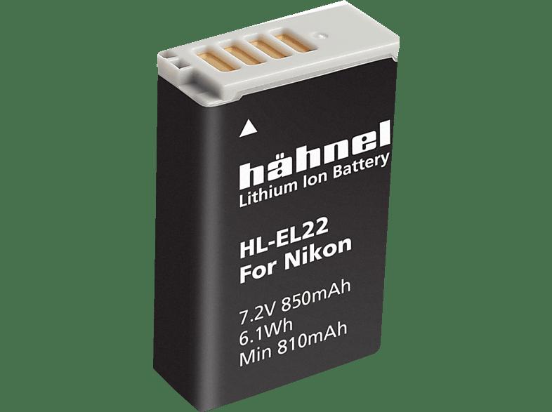 HÄHNEL HL-EL22 für Nikon EN-EL22 Akku Nikon , Li-Ion, 7.2 Volt, 850 mAh