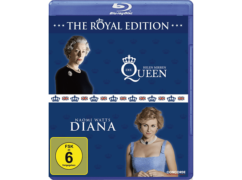 The Queen / Diana [Blu-ray]
