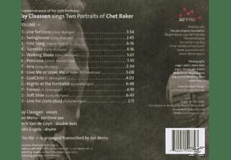 Fay Claassen - Two Portraits Of Chet Baker Vol.1  - (CD)