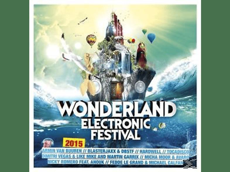 VARIOUS - Wonderland Electronic Festival 2015 [CD]