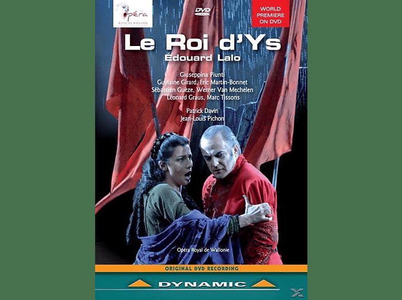 VARIOUS, Piunti/Girard/Davin/Van Mechelen/Gueze/Graus/+ - Le Roi D'Ys [DVD]