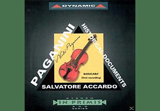 Salvatore Accardo, Giulio Bignami, Vasa Prihoda, Arturo Toscanini - Historische Dokumente  - (CD)