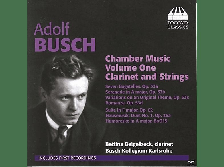 Bettina Beigelbeck, Busch Kollegium Karlsruhe - Kammermusik Für Klarinette Und Streicher [CD]