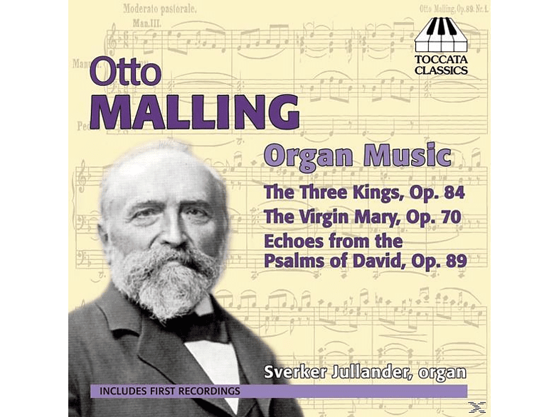 Sverker Jullander - Otto Malling: Organ Music [CD]