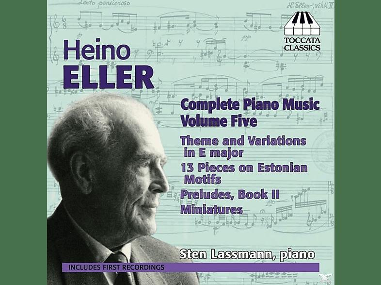 Sten Lassmann - Klaviermusik Vol.5 [CD]
