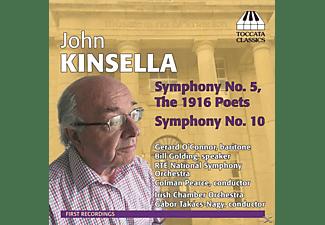 Takács-Nagy/O'Connor/RTÉ NSO - Sinfonien 5+10  - (CD)
