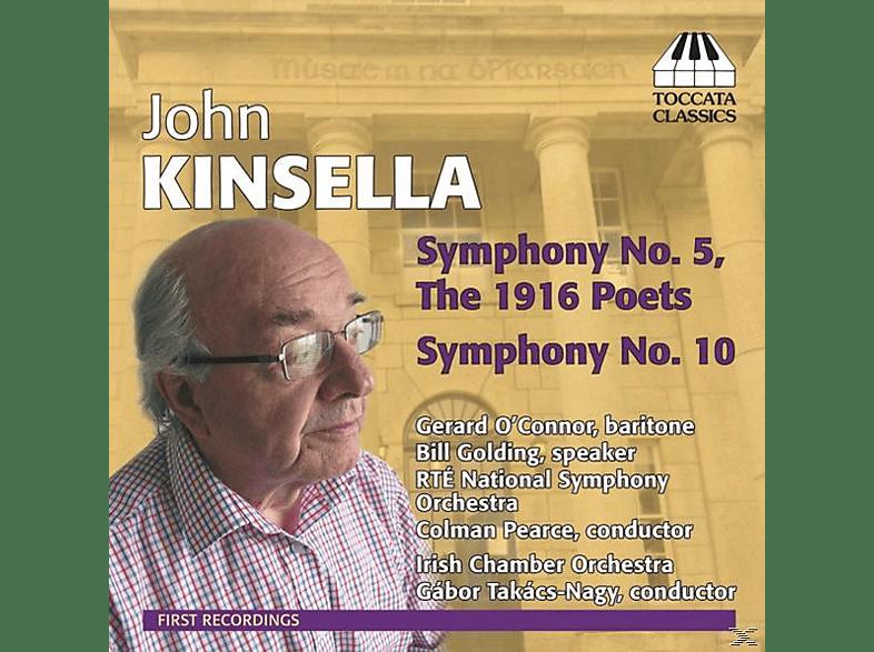 Takács-Nagy/O'Connor/RTÉ NSO - Sinfonien 5+10 [CD]