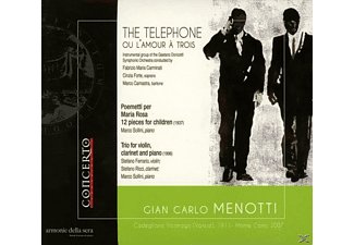 FORTE, CAMASTRA, CARMINATI, FERRARI - The Telephone u.a.Werke - (CD)