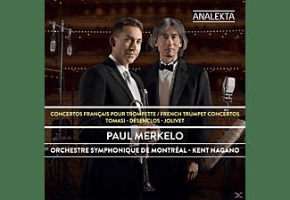 Paul  Merkelo;Kent Nagano;Orchestre Symphonique De Montreal - Französische Konzerte für Trompete  - (CD)