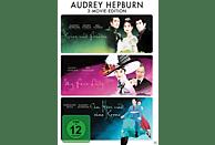 Audrey Hepburn - My Fair Lady / Krieg und Frieden / Ein Herz und eine Krone [DVD]
