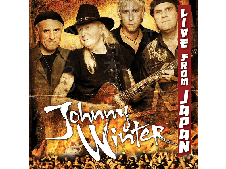 Johnny Winter - Live From Japan [CD]