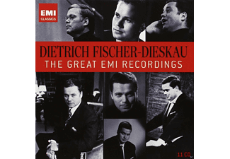 Dietrich Fischer-Dieskau, VARIOUS - The Great Emi Recordings  - (CD)