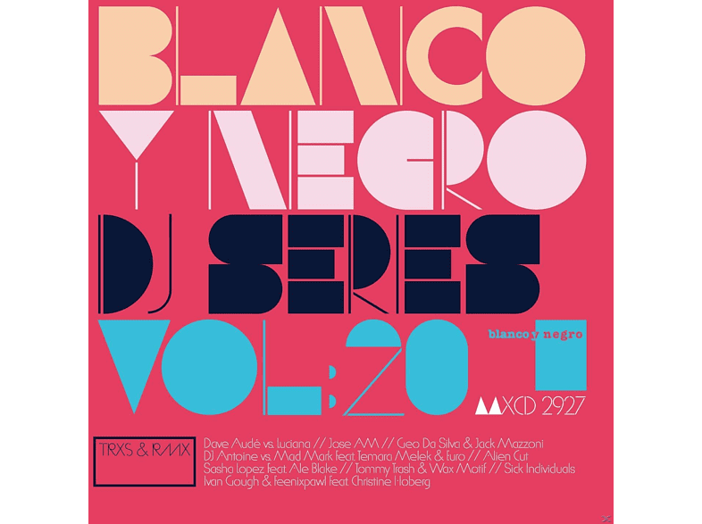 VARIOUS - Blanco Y Negro Dj Series Vol.20 [CD]