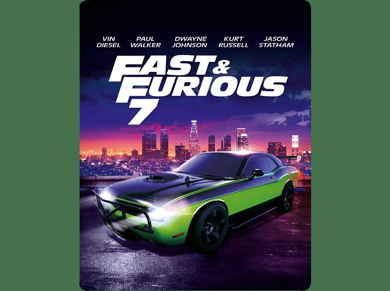 Fast & Furious 7 (Leere Steelbook Edition / Media Markt Edition) [DVD]