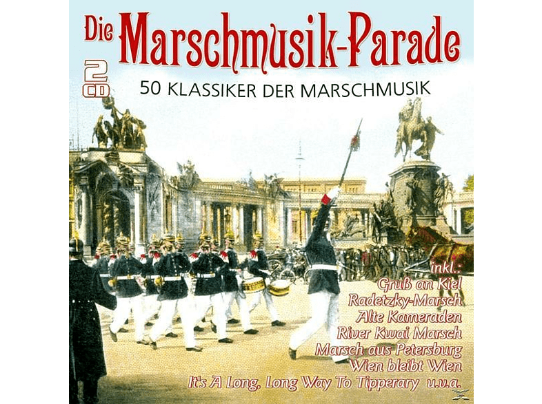 VARIOUS - Die Marschmusik-Parade-50 Klassiker [CD]