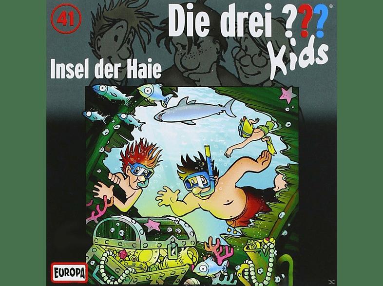 Die Drei ??? Kids - Die drei ??? Kids: Insel der Haie - (CD)