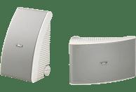 YAMAHA NS-AW592 1 Paar Outdoor Lautsprecher (Weiß)